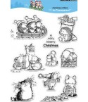 Penny Black Clear Stamps Christmas Critters