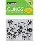 Blooming Meadow Cling Stempel