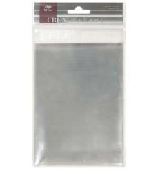 Cellophan-Beutel selbstklebend für Kuvert C6