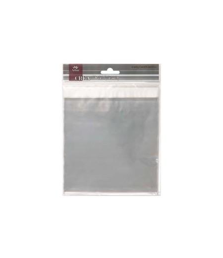 Cellophan-Beutel selbstklebend für quadratische Kuvert