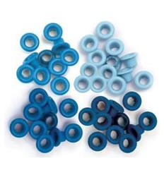 WeR Eyelets Blue