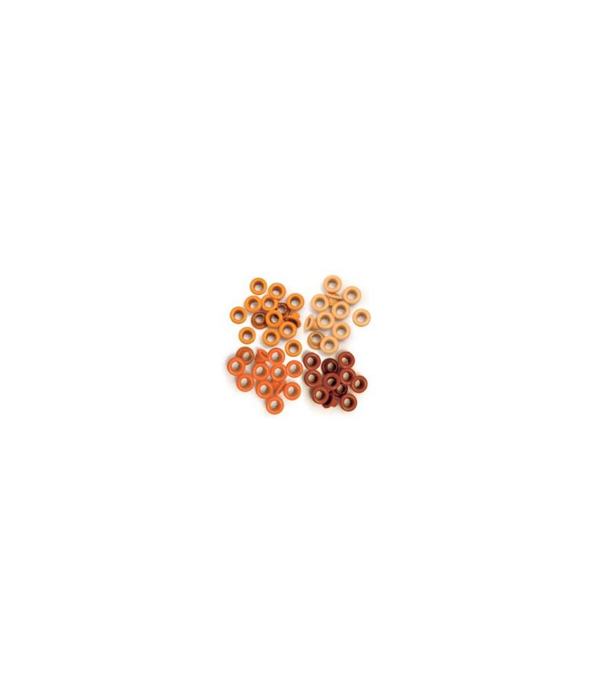 WeR Eyelets Orange