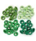 WeR Eyelets Green