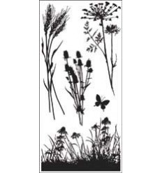 Inkadinkadoo Clear Stamps Meadow