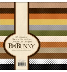 Bo Bunny Double Dot Designs 6x6 Natural Necessities