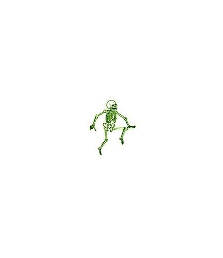 Stempel Tanzendes Skelett Stempel