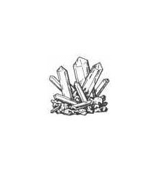 Bergkristall Stempel