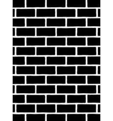 Darice Prägeschablone Brick Pattern