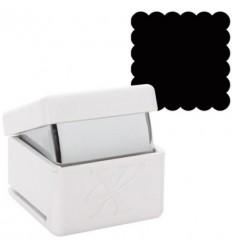 3/4 Inch Quadrat-Stanzer Scalloped 1.9 cm
