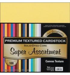 Scrapbooking Papier Cardstock Super Assortment 30.5 x 30.5 cm