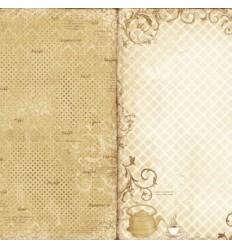 "Maja Design Scrapbook Papier Fika 12"" x 12"""