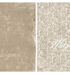 "Maja Design Scrapbook Papier Vintage Summer Basics 12""x12"""