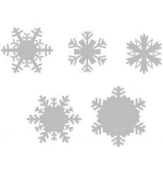 Tim Holtz Stanzschablonen Snowflakes