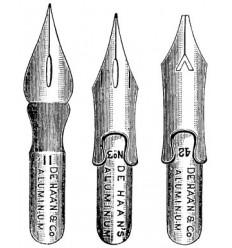 Schreibfedern Stempel