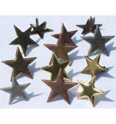 Brads Mix Stars Metalic