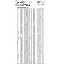 Tim Holtz Stencil/Schablonen Stripes Layering