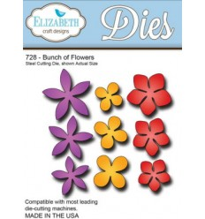 Elizabeth Dies Stanzschablone Bunch of Flowers
