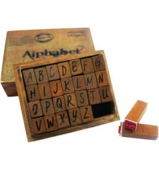 Alphabet Stempel Set Gross