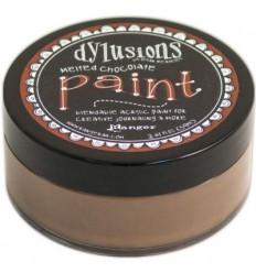 Dylusions Paint Melted Chocolate