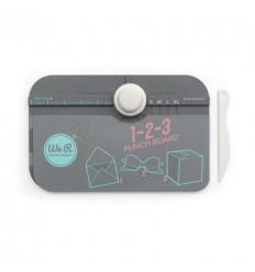 1-2-3 Punch Board, weiss