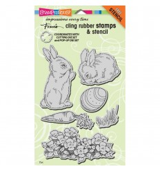 Stampendous Cling Stempel Bunnies