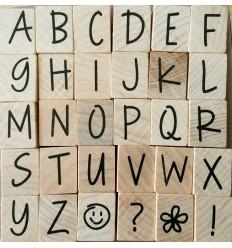 Hero Arts Alphabet Stempel Set