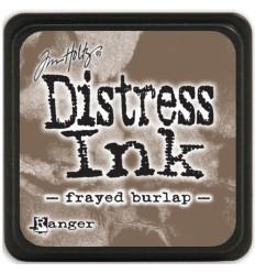 Frayed Burlap Distress Kissen & Nachfüllfarbe von Tim Holtz
