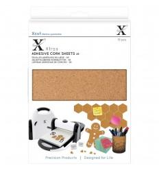 Selbstklebende Kork Sheets  A5 - Xcut Xtras