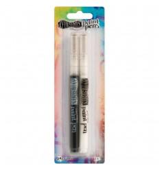 Paint Pens  Schwarz / Weiss - Dylusions