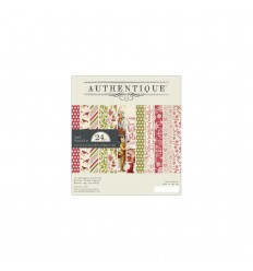 Scrapbooking Papier Christmastime 6x6 Bundle - Authentique