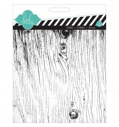 Woodgrain Clear Stamp - Heidi Swapp