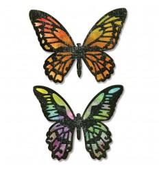 Stanzschablone Schmetterlinge - Sizzix, Tim Holtz