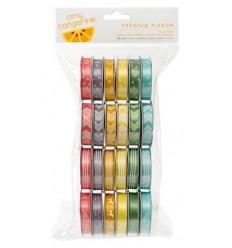Bänder Set  Dots Stripes Chevron - American Crafts