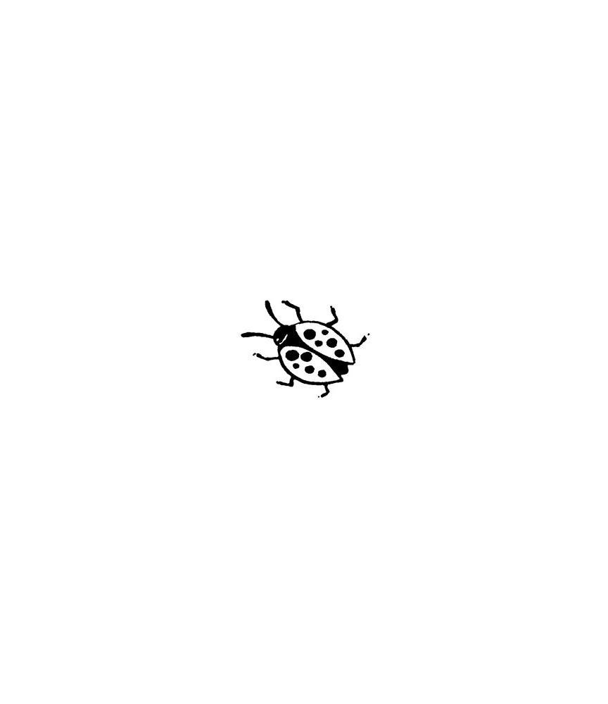 Mini Marienkäfer Stempel