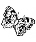 Mini Stempel Schmetterling