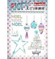 Jofy Stempelplatte Noel