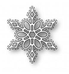 Stanzschablone Stiched Snowflake - Poppystamp