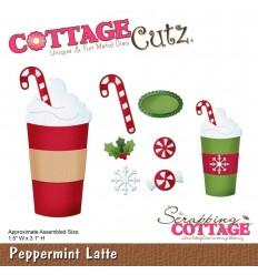 Stanzschablone Peppermint Latte - Cottage Cutz