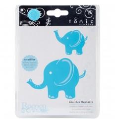 Elefant Stanzschablonen - Tonic