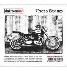 Motorcycle Cling Stempel - Darkroom Door