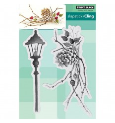 Cones & Berries Cling Stempel - Penny Black