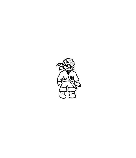 Mini Stempel Pirat