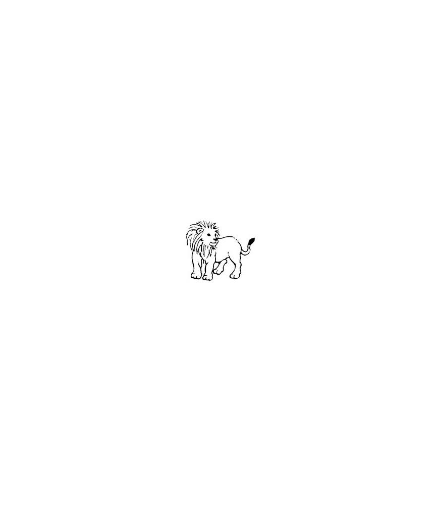 Mini Stempel Löwe