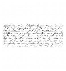 Script Clear Stamp - Kaiser Craft