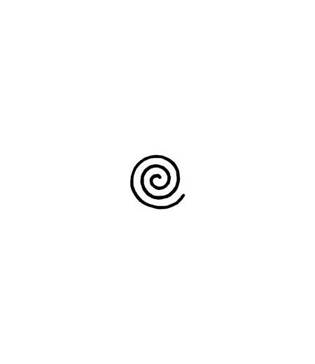 Mini Stempel Spirale