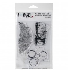Gabi's Losse Threads Cling Stamps - 49 and Market