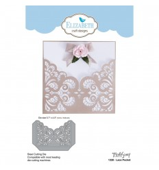 Stanzschablone Lace Pocket - Elizabeth Craft