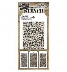 Stencil Schablonen Mini Set Nr. 28 - Tim Holtz