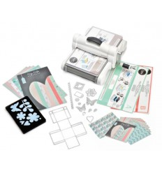 Sizzix Big Shot Plus Starter Kit Weiss & Grau DIN A4