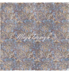 Scrapbooking Papier Denim & Friends - Jeans & Tie - Maya Design